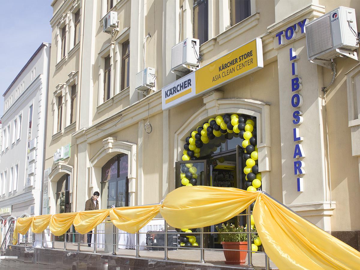 Открылся наш новый магазин в Самарканде!